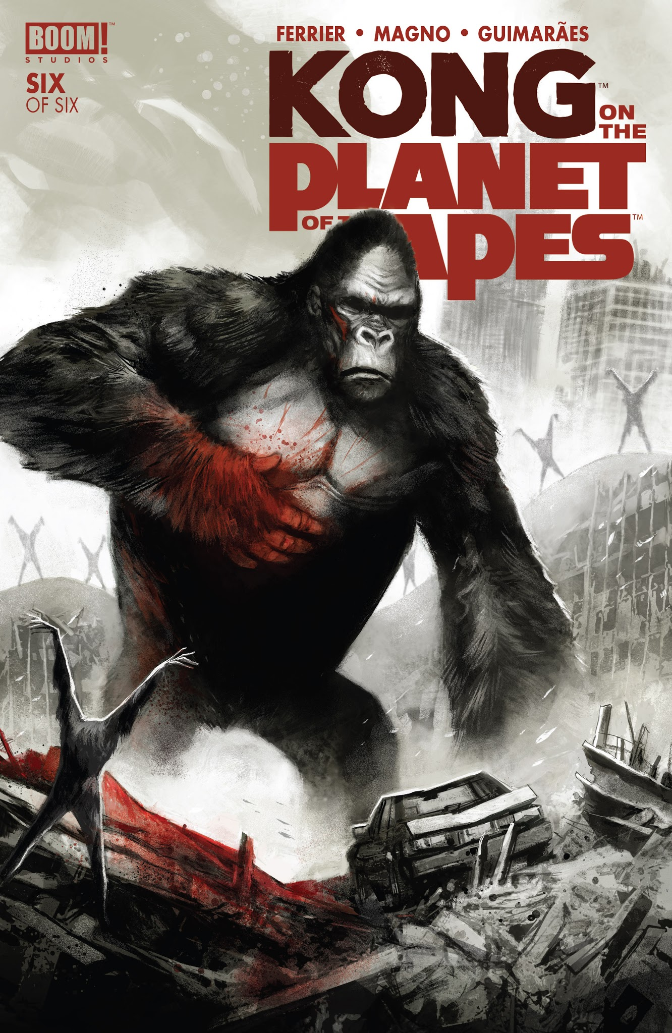 Kong on the Planet of the Apes 6 Page 1