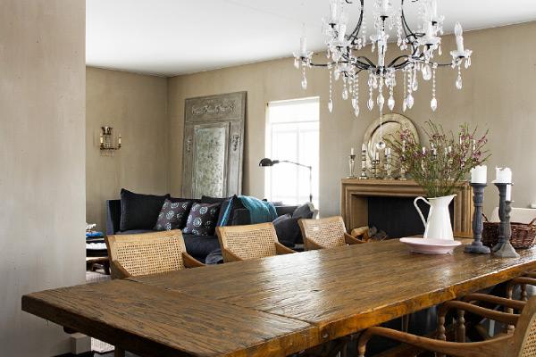 Elegante e romantico appartamento blog di arredamento e for Appartamenti interni