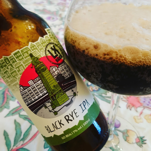 Portugal Craft Beer Review: Black Rye IPA from LX Beer
