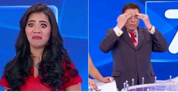 Stefhany Absoluta passa por grande vergonha, vira piada na internet e faz apresentador perder a paciência