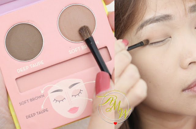 a photo of Happy Skin Eye Can Do It 3-way Eyes + Brows + Nose Line KIT Review.