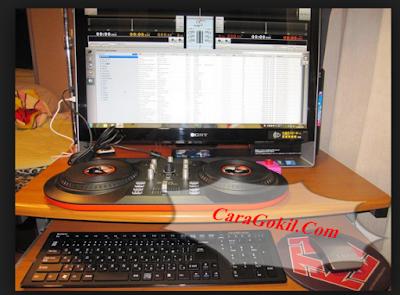 Musik DJ di PC