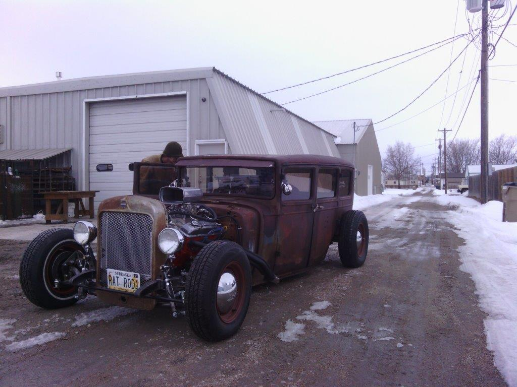 Vaphead 1929 dodge on the road for 1929 dodge 4 door