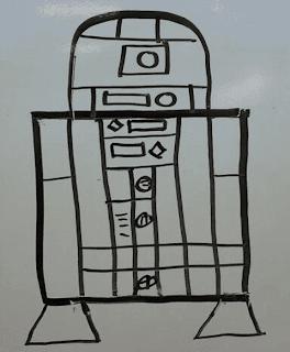 dessin-de-r2d2-3 Comment dessiner R2D2