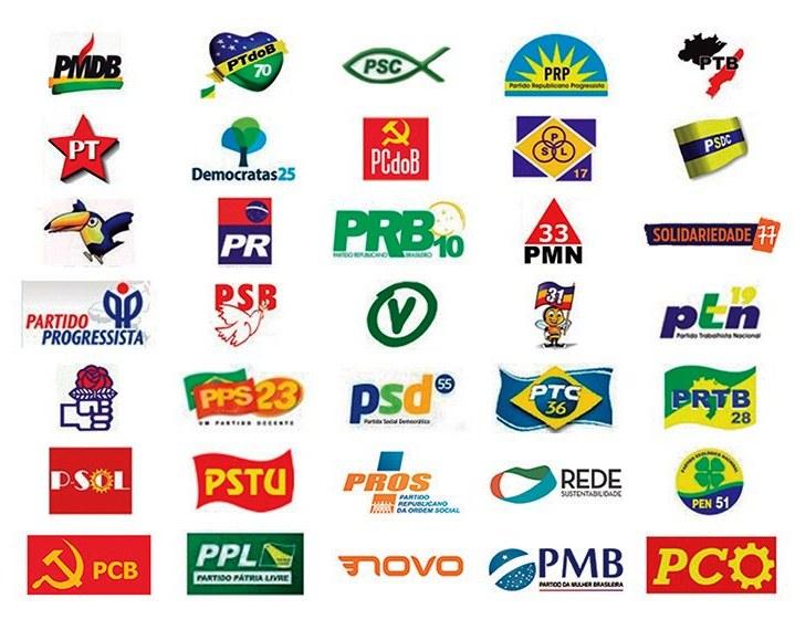 PT, PSDB, MDB e PSL são os partidos preferidos pela população santarena, diz pesquisa