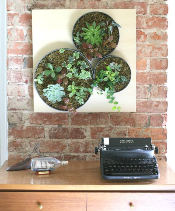 Diy Vertical Succulent Garden Ehow S Ikea Lack Hack