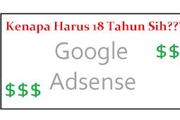 Cara Mengatasi Tidak Bisa Mendaftar Google Adsense Karena Umur | Usia Belum 18 Tahun