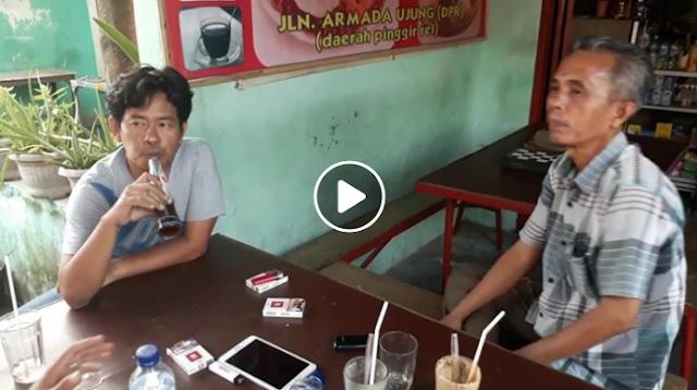 Viral Obrolan Politik di Warung Kopi!! Awalnya Bapak Tua Ini Ngotot Bilang Jokowi Gagal, Lalu Diskakmat Pemuda Ini Begini....