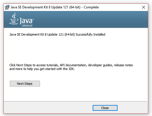 How to install Oracle JDeveloper 12c on Windows 10 64bit