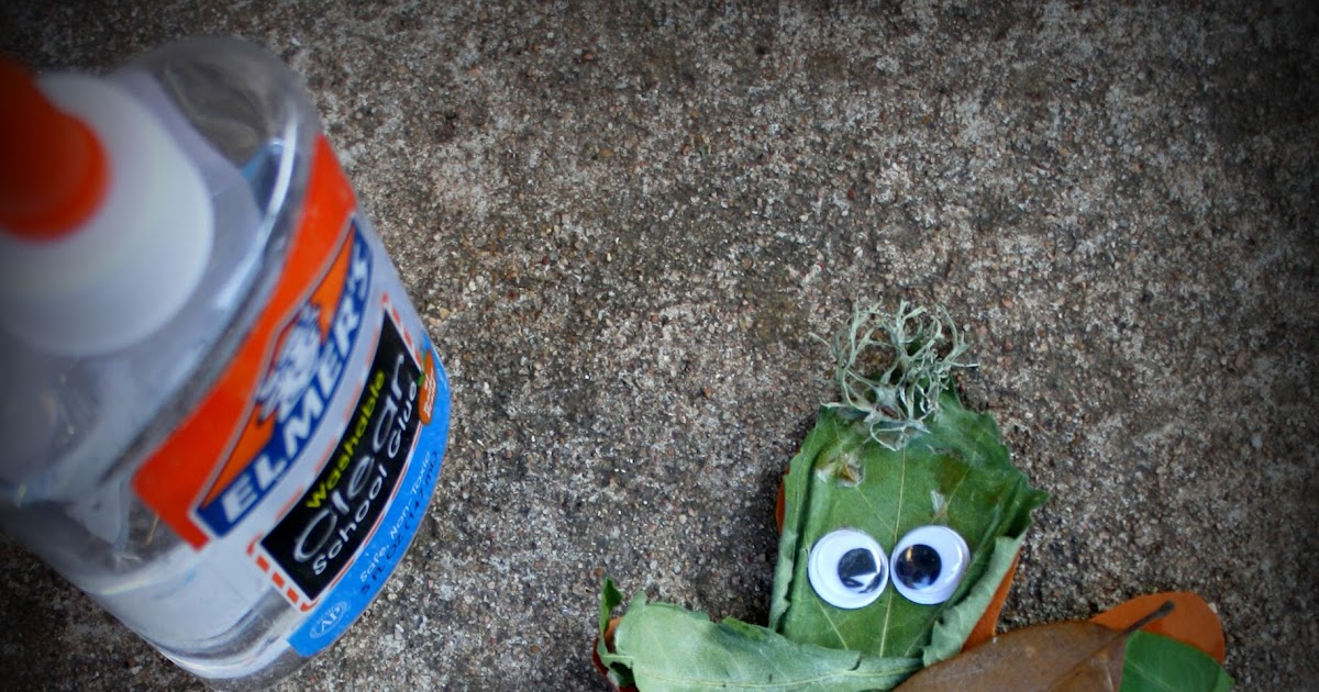 Having Fun At Home: Leaf Man Activity : A Book And A Craft