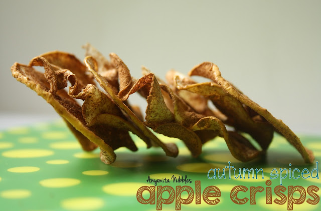 Autumn Spiced Apple Crisps from www.anyonita-nibbles.com