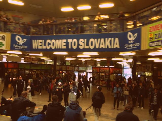 Estación de tren de Bratislava
