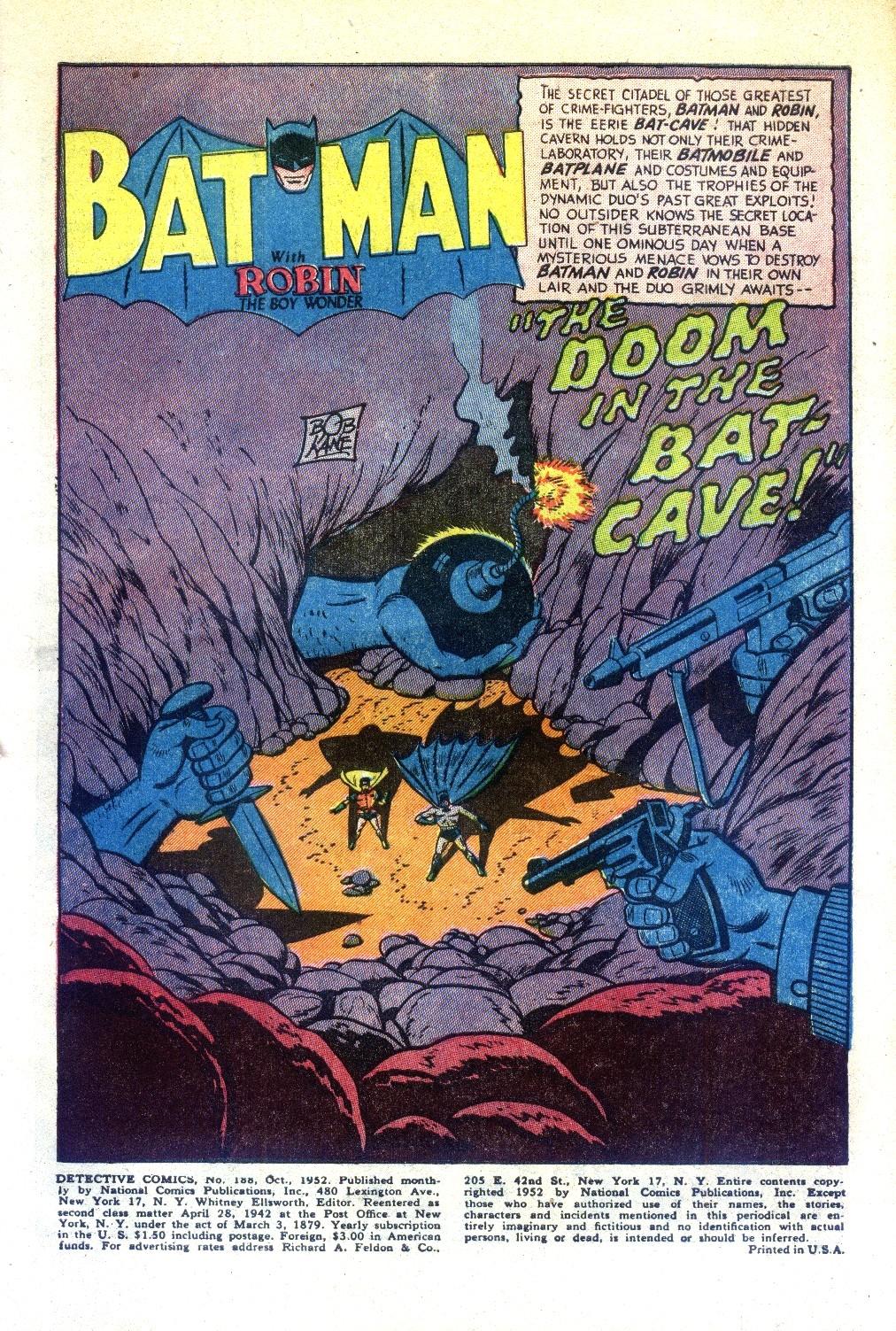 Read online Detective Comics (1937) comic -  Issue #188 - 3