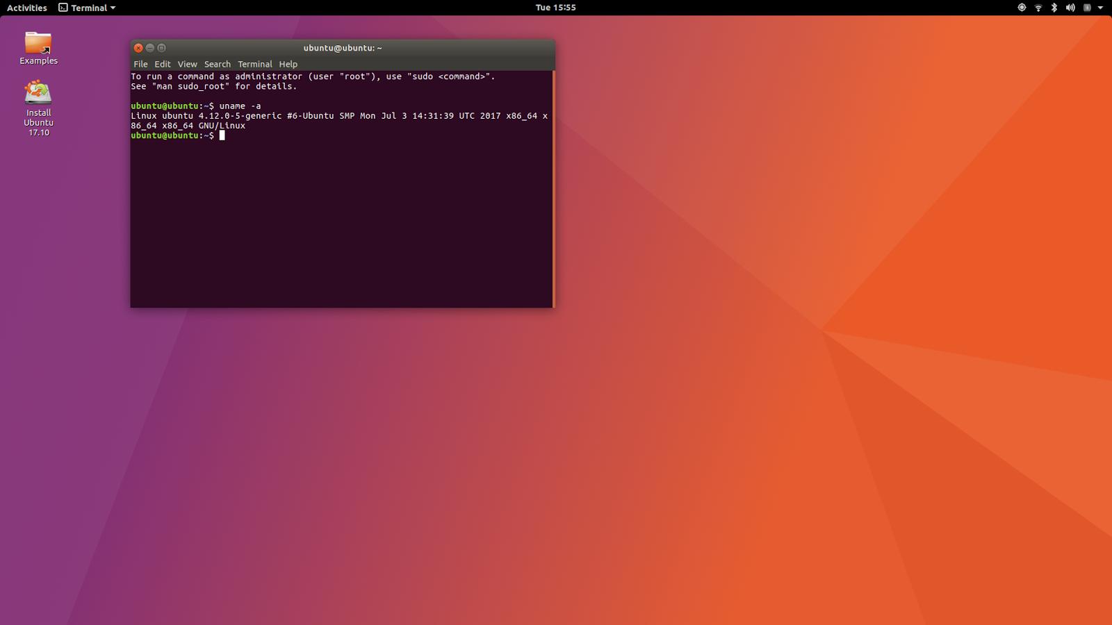 linuxium com au: Fifth look at Ubuntu 17 10: using an