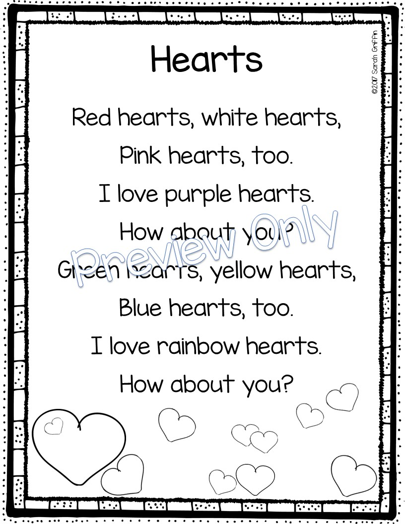 Uncategorized Valentines Poem For Kids daughters and kindergarten 5 valentines day poems for kids kids
