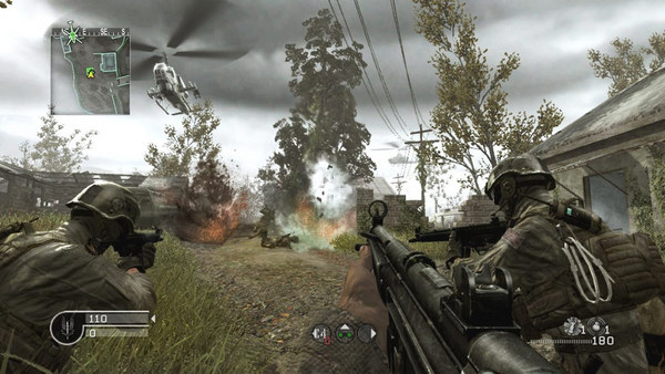 Call of Duty 4 Modern Warfare PC Game Play