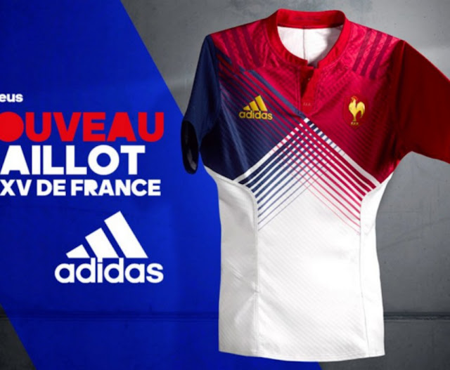 adidas presenta la nueva piel de Francia para el 6 naciones