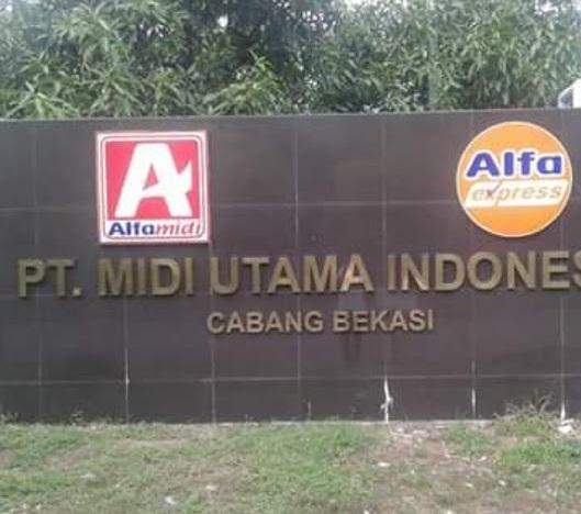 PT.Midi Utama Indonesia Tbk Bekasi, Jawa Barat (VIALOKER.COM)