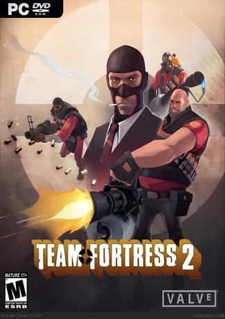 Team Fortress 2 Game Cover CD/DVD
