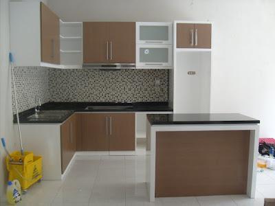 Tips Desain Kitchen Set Minimalis