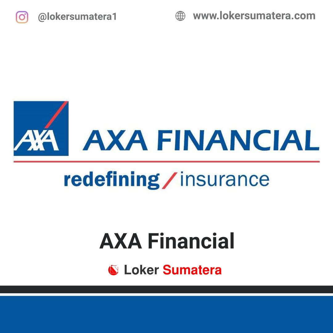 Lowongan Kerja AXA Financial Pekanbaru Februari 2020