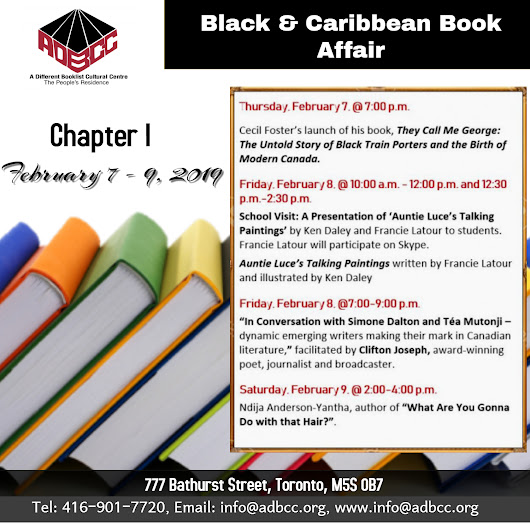 SOME 2019 BLACK HISTORY MONTH EVENTS