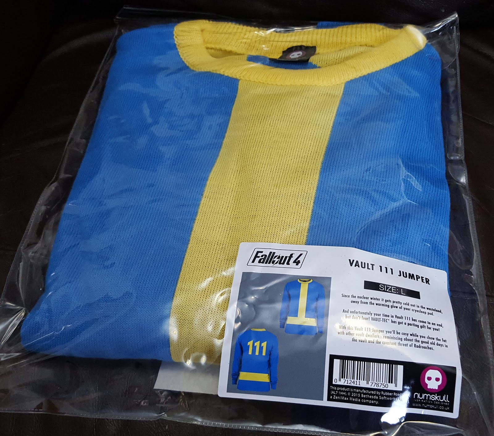 22856cdde The Brick Castle: A Vault 111 Fallout 4 Jumper for Christmas from ...