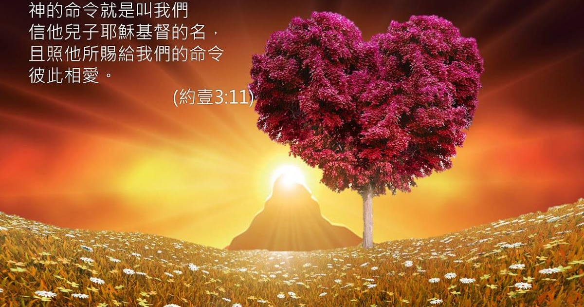 Image result for 「上帝的命令就是叫我们信祂儿子耶稣基督的名,且照祂所赐给我们的命令彼此相爱。」(约一3: 23)