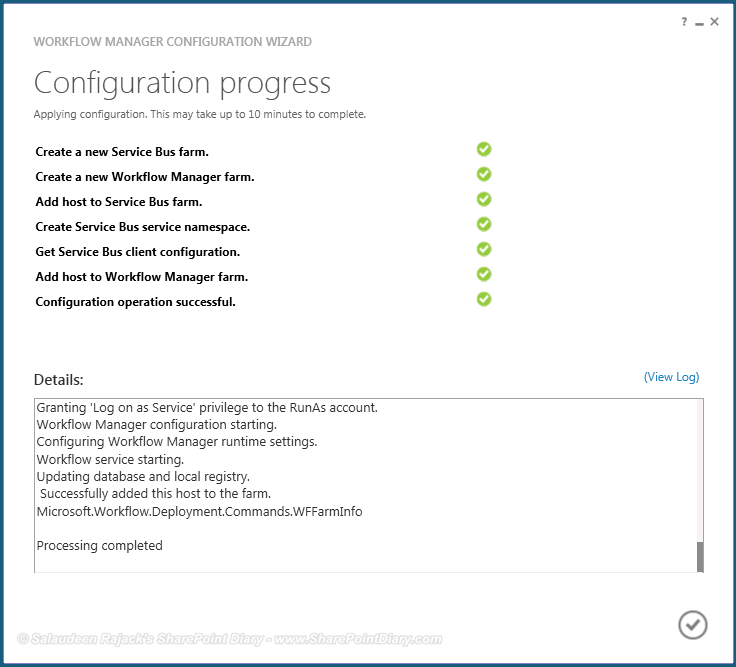 sharepoint 2013 workflow manager installation