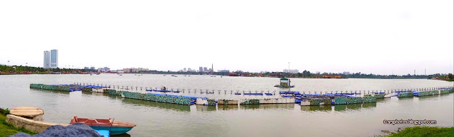 Panaromic Lake View of Eco Tourism Park, Kolkata
