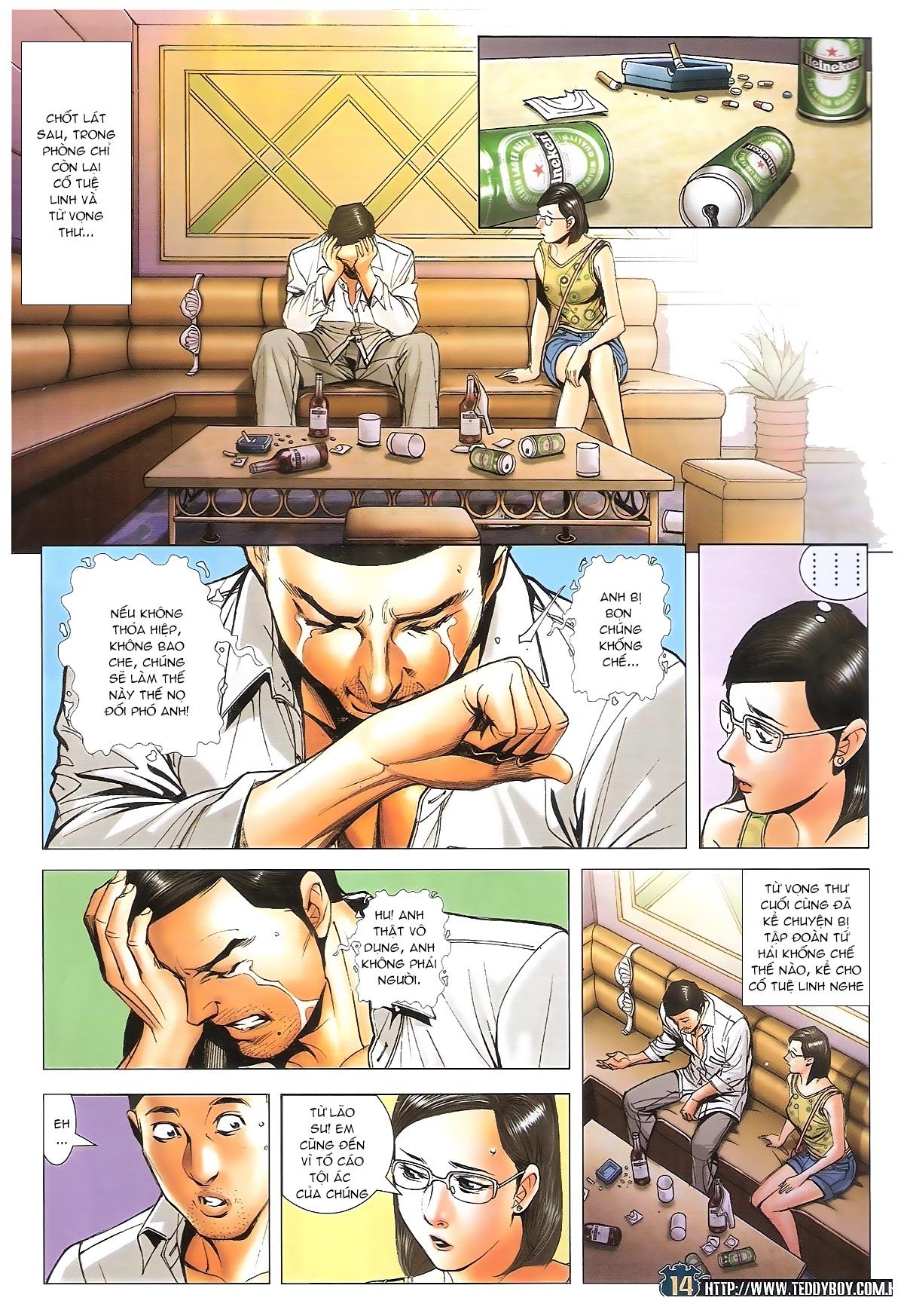 Người Trong Giang Hồ - Ngũ Hổ qui thiên - Chapter 1706: Kịch chiến - Pic 13