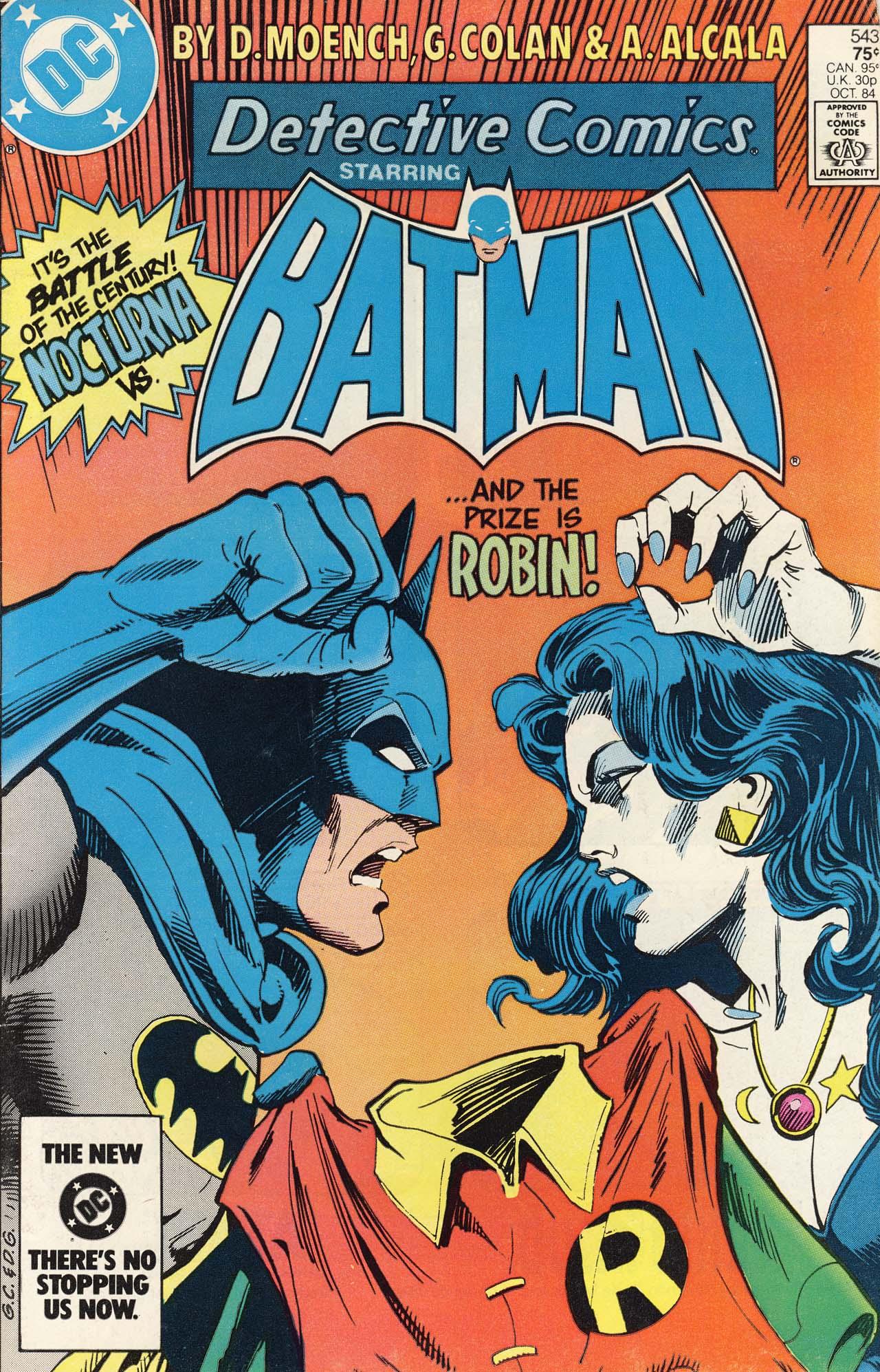 Detective Comics (1937) 543 Page 0
