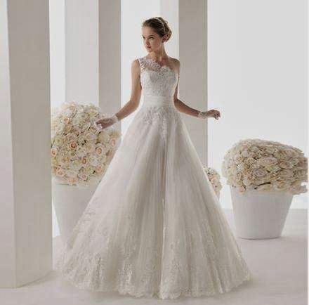 Wedding Dress ---Symbol of Happiness