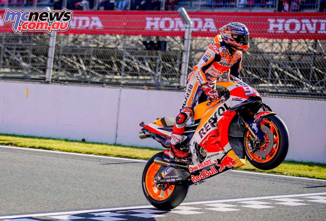 Finish pertama di MotoGP Jepang, Marquez berhasil kunci gelar juara dunia musim 2018 !