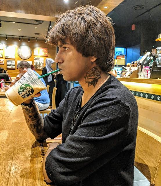Sourajit Saha At Starbucks 3