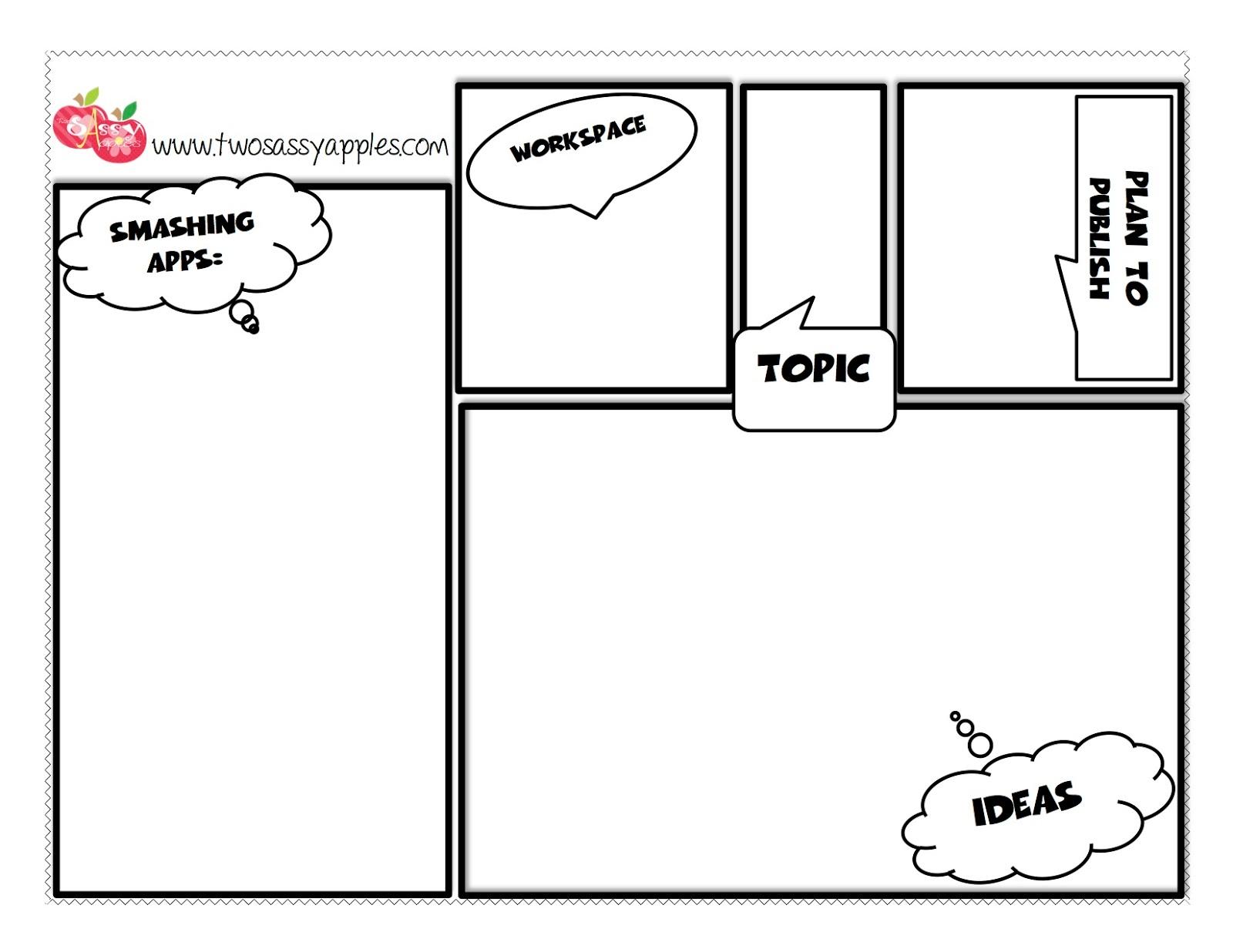 storyboard template app - two sassy apples app smashing