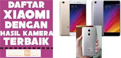 daftar xiaomi dengan kamera terbaik