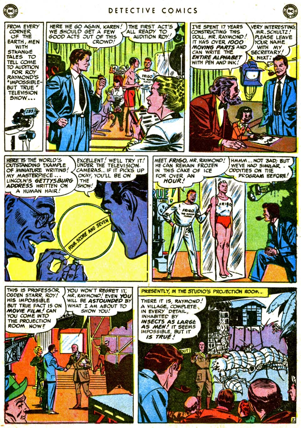 Read online Detective Comics (1937) comic -  Issue #162 - 18