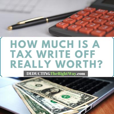 Tax return calculator | www.deductingtherightway.com