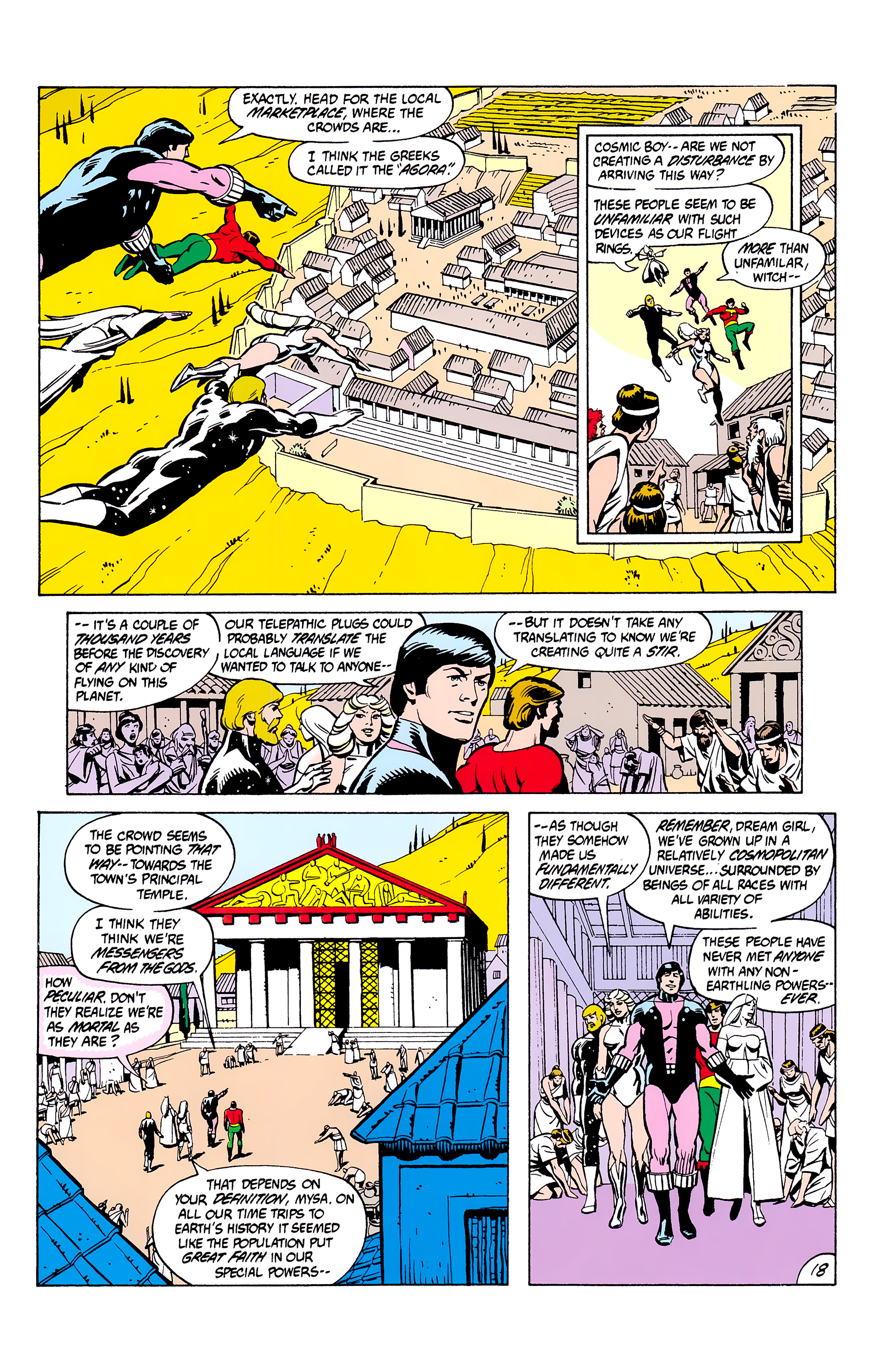 Legion of Super-Heroes (1980) _Annual_2 Page 18