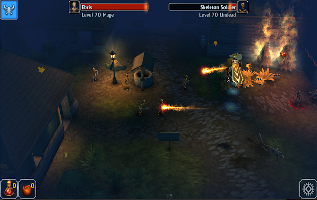 Game Aksi RPG Offline Android: Eternium Mage and Minions MOD APK