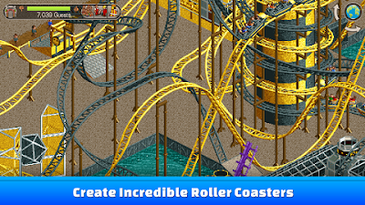 download game roller coaster tycoon mod apk