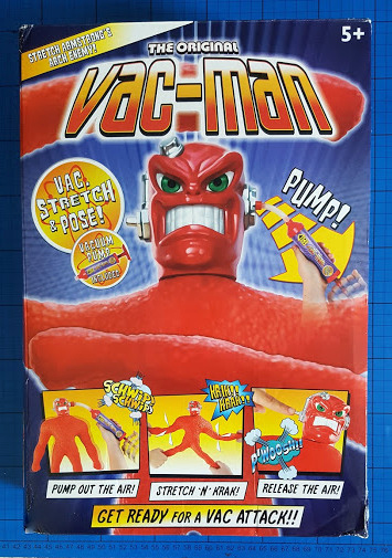 "Stretch Armstrong 14/"" Vac Man"