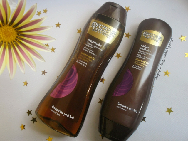 Orzene Beer Shine Elixir Colored Hair Shampoo & Conditioner : Review