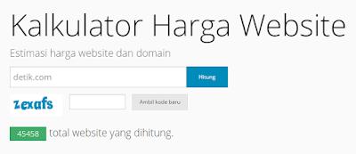Cara Cek Harga Blog atau Website