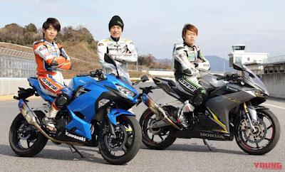 CBR250RR vs New Ninja 250