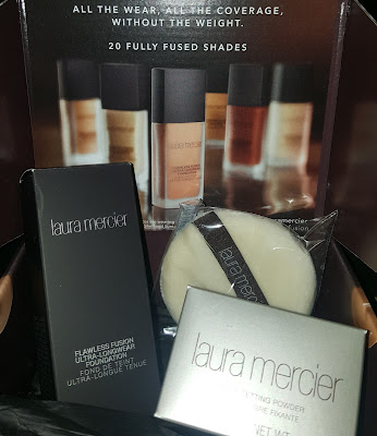 Laura Mercier Flawless Fusion Ultra-Longwear Foundation & Translucent Loose Setting Powder