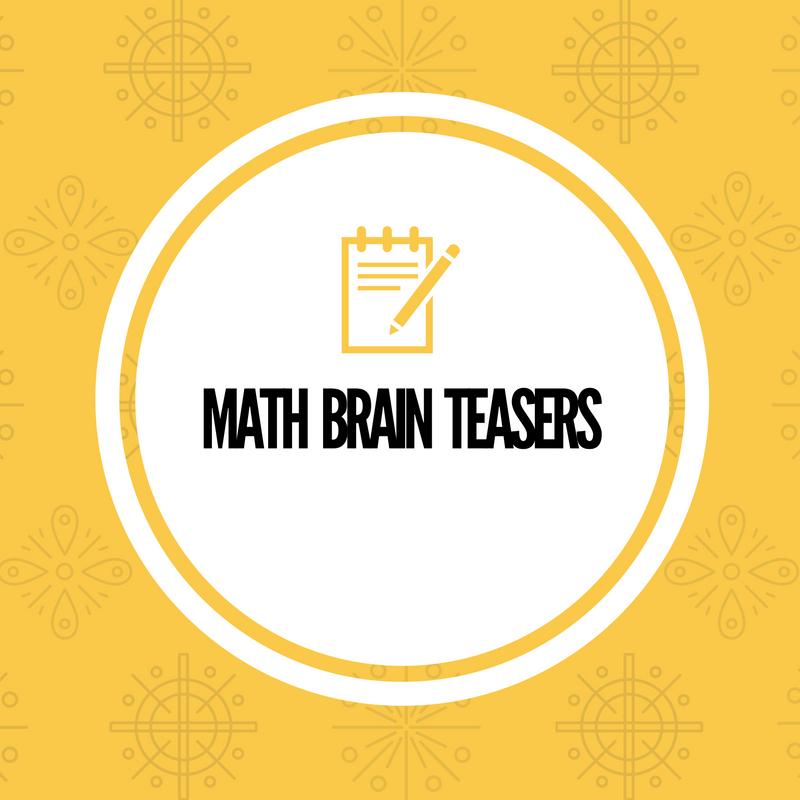 math worksheet : simple math riddles for kids and teens with answers : Math Riddles For Kids