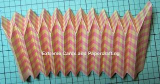 paper cupcake reverse folds