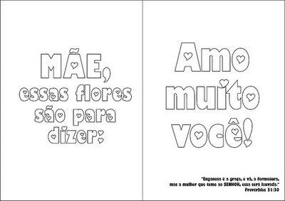 30 Cartões De Dia Das Mães Para Imprimir 30 Modelos De Cartão De